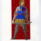 Autoportrait 2 gouache sur papier 21x29,7cm 2010