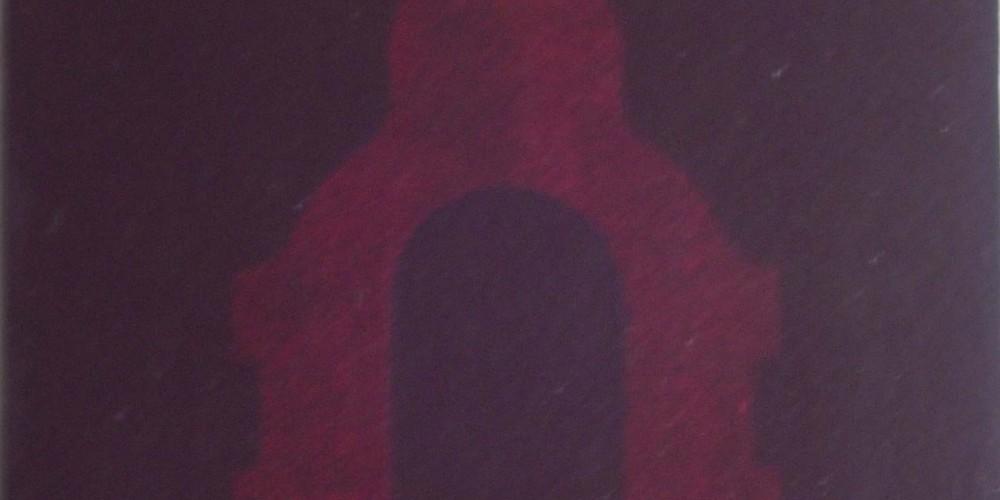 Boîte noire 4, glycéro sur papier marouflé sur bois 2002