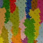 Gladiolus, acrylique sur toile 1,00X0,90m