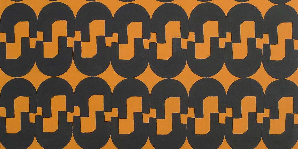 TFF, F3D N°1, vinylique, 25x25x4