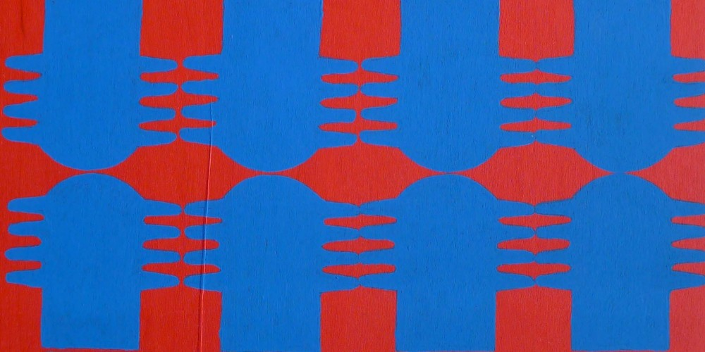 TFF, F3D N°11, vinylique, 25x25x4