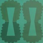 TFF, F3D N°17a, vinylique, 25x25x4cm