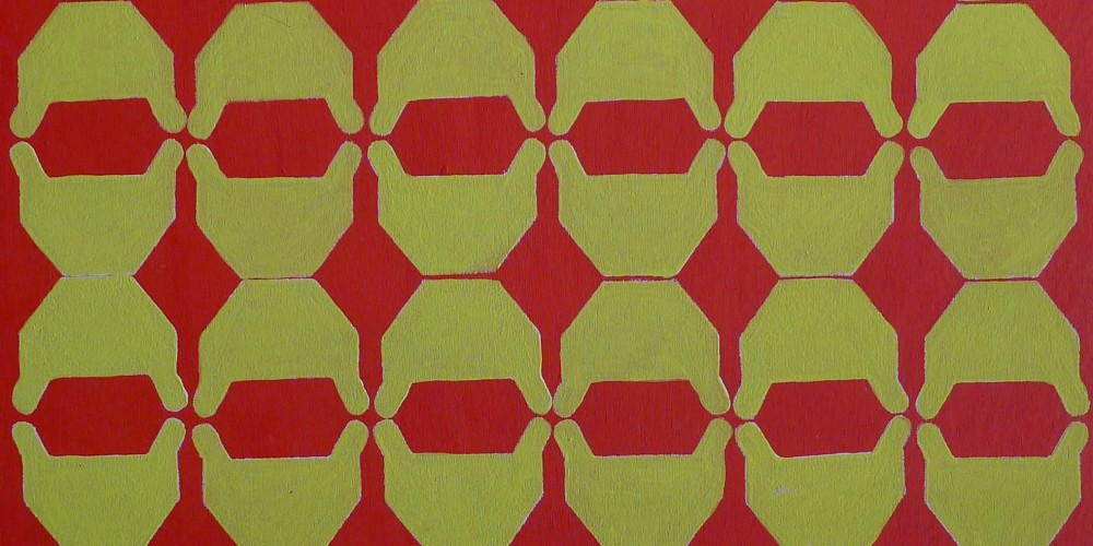 TFF, F3D N°19, vinylique, 25x25x4