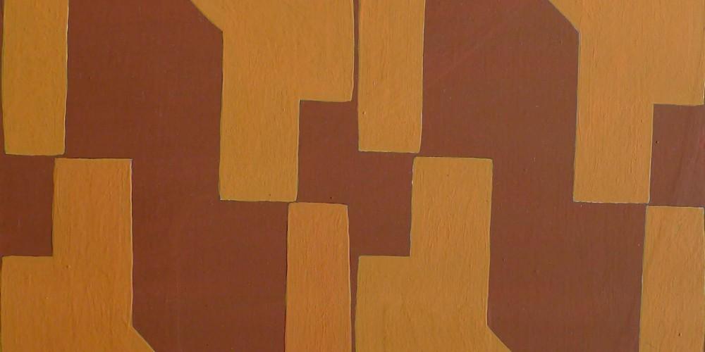 TFF, F3D N°1a, vinylique, 25x25x4