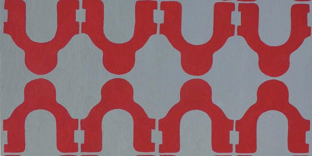 TFF, F3D N°28a, vinylique, 25x25x4