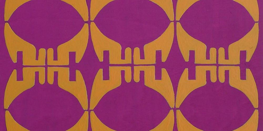 TFF, F3D N°30, vinylique, 25x25x4