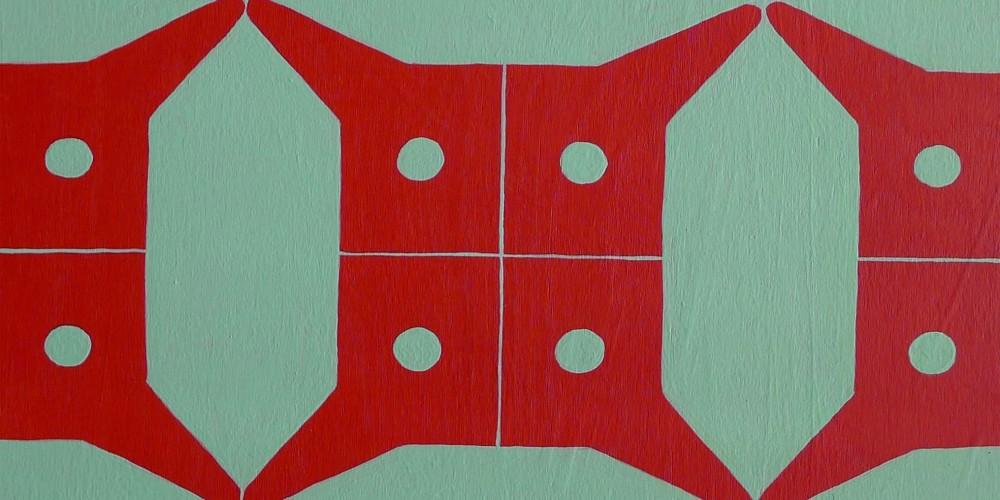 TFF, F3D N°7, vinylique, 25x25x4