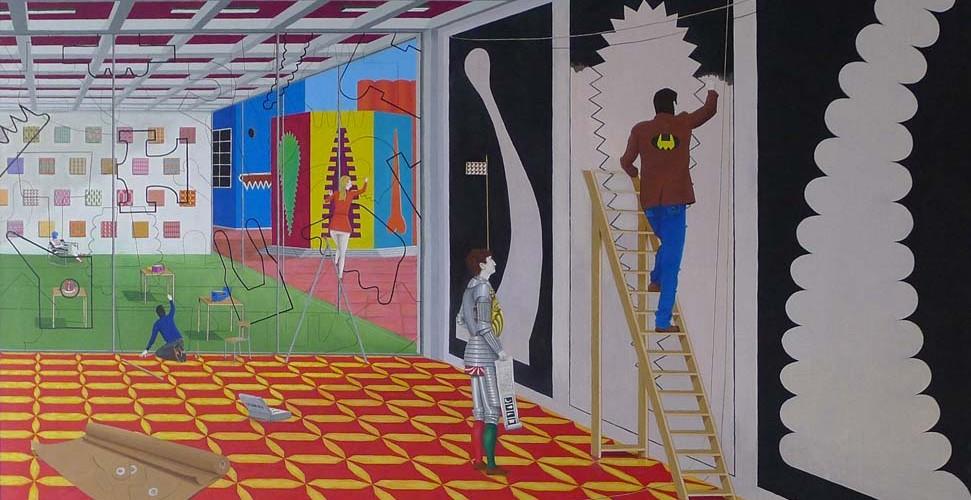 Tableau d'exposition, 14,21-huile-sur-toile-250x200