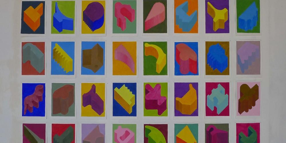 40 F3D, Gouache, 21x29,7 2010