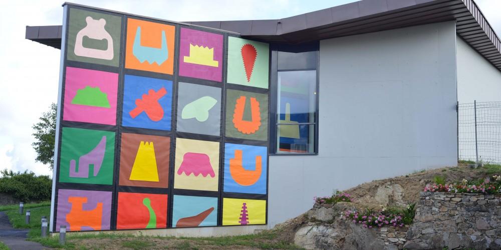 Peinture murale N° 1, 2 8,90x7,02m 2012