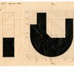 Plan F3D N°1 encre sur papier 21X29,7cm 1998