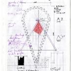 Plan F3D N°38Plan F3D N°1 encre sur papier 21X29,7cm 2000