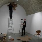 Dessin Mural N° 4(6), installation - 2014