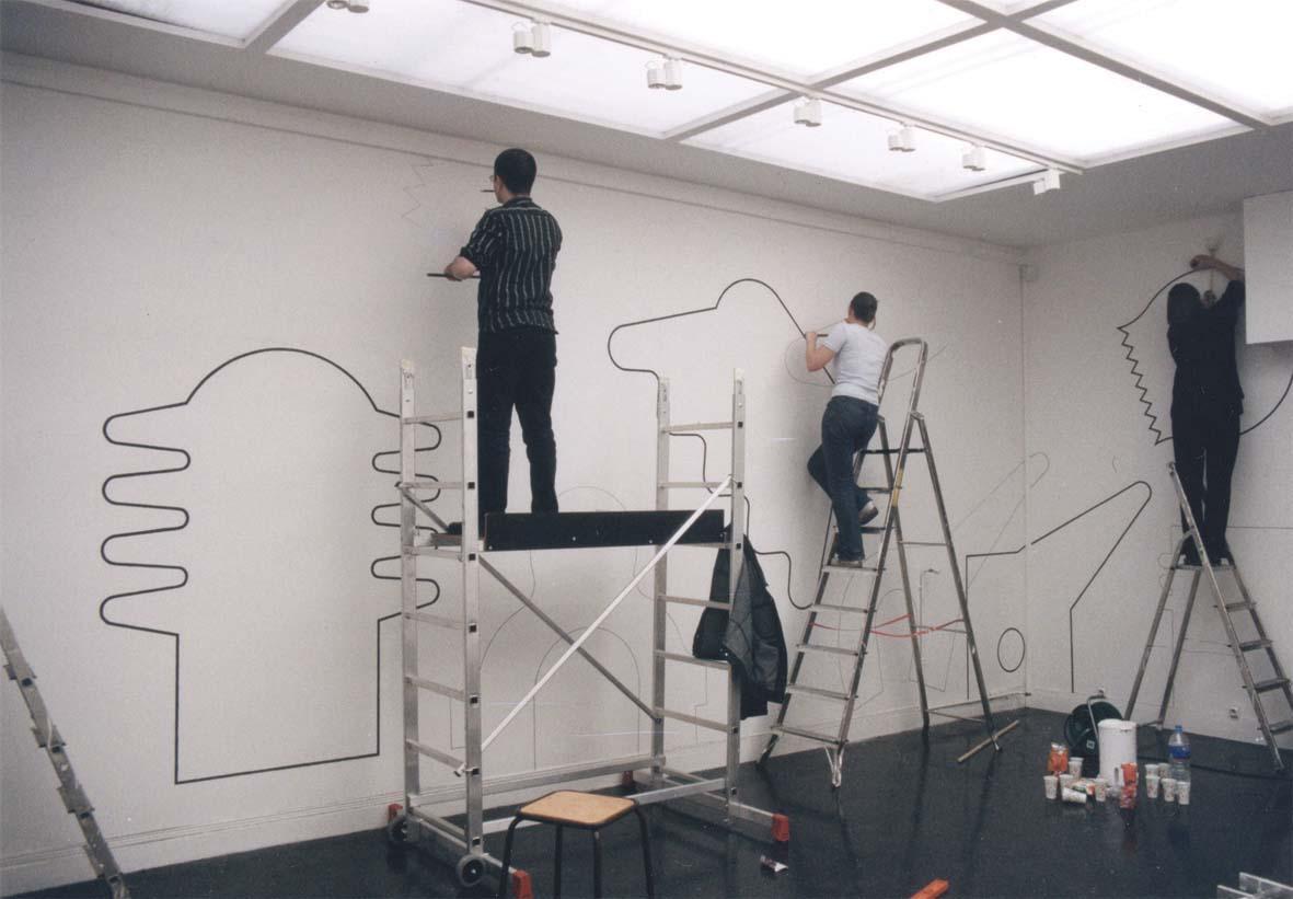 Alain doret dessins muraux for Dessin mural