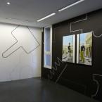Dessin mural N° 4 (4) - espace Jules Valles pierre noir Grenoble, à l'étage 2009
