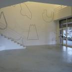 Dessin mural N° 4 ( 4) -  espace Jules Valles pierre noir Grenoble 2009