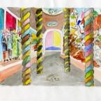 Chapelle aquarelle 21x29,7cm