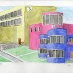 F3D N°3-4-33 aquarelle sur papier 20,6x29,4cm