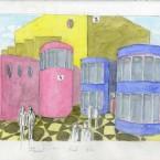 F3D N°3-4-33a aquarelle sur papier 20,6x29,4cm