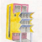 F3D N°3 aquarelle sur papier 20,6x29,4cm