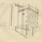 F3D N°3a encre sur papier 25,5x32cm