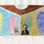Scène d'intérieure, aquarelle 21x29,7cm
