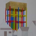 d Peinture, collage, crayon 29,7x42cm 2010