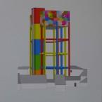 j Peinture, collage, crayon 29,7x42cm 2010