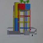 t Peinture, collage, crayon 29,7x42cm 2010