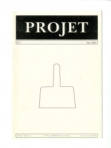 Édition projet Rome 2006, couverture 14,8x29,7
