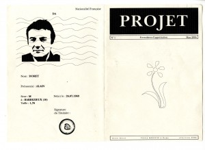 Couverture des formulaires d'appréciations 14,8x21cm