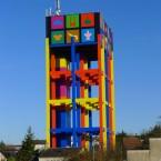 Le Château des F3D polyuréthane sur béton 40x23x15,7m