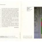 """catalogue de l'exposition du salon de Montrouge, 2009- """"Les pseudos-signes d'Alain Doret, 2009"""