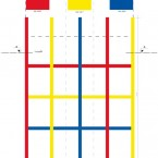 Plan de colonnes, façade SUD